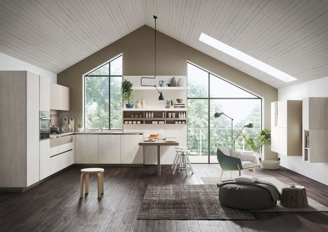 Oltre 1000 idee su cucine in rovere su pinterest mobili cucina legno cucina calda e armadi in - Cucine da 10000 euro ...
