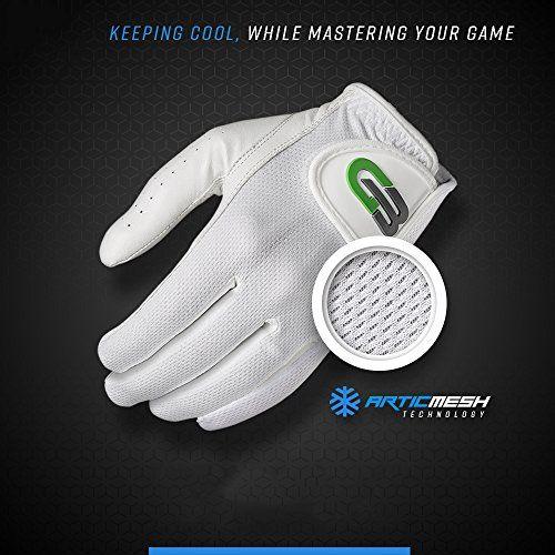 GB Golf Second Skin Cabretta Leather Men's Golf Glove