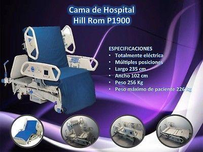 Cama de Hospital Hill Rom P1900  #Cama, #De, #Hospital, #Hill, #Rom, #P1900