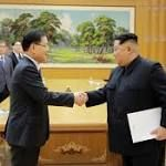 South Koreas Moon says North Korea sanctions stay too early to be optimistic about talks