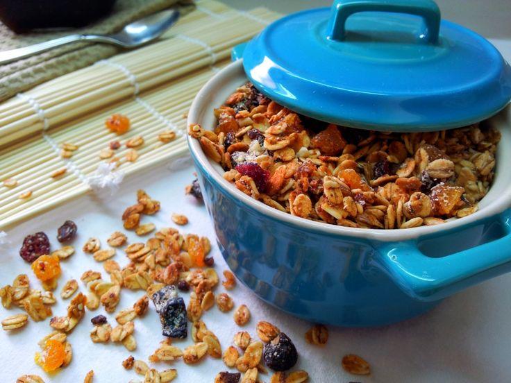 Křupavá granola