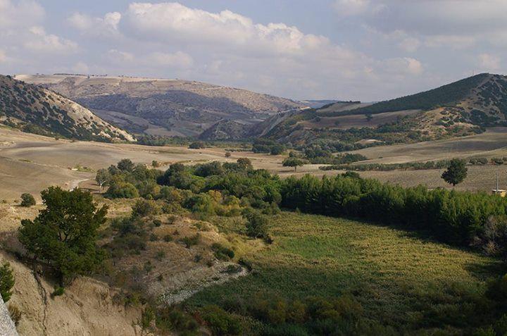 Anche la #Puglia ha i suoi monti: sono i Monti Dauni, straordinaria area a ridosso della Campania, caratterizzata da piccoli borghi arroccati sui pendii, boschi, campi coltivati e dolci vallate. Questo panorama si apre alla vista da #Carlantino; ci regalate un aggettivo per descriverlo?  http://www.viaggiareinpuglia.it/dirter/PE9/36/it/Daunia