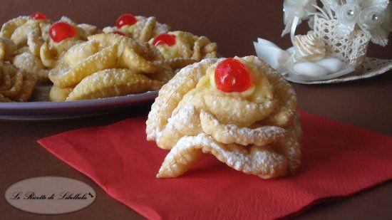 #Rose fritte con #cremapasticcera