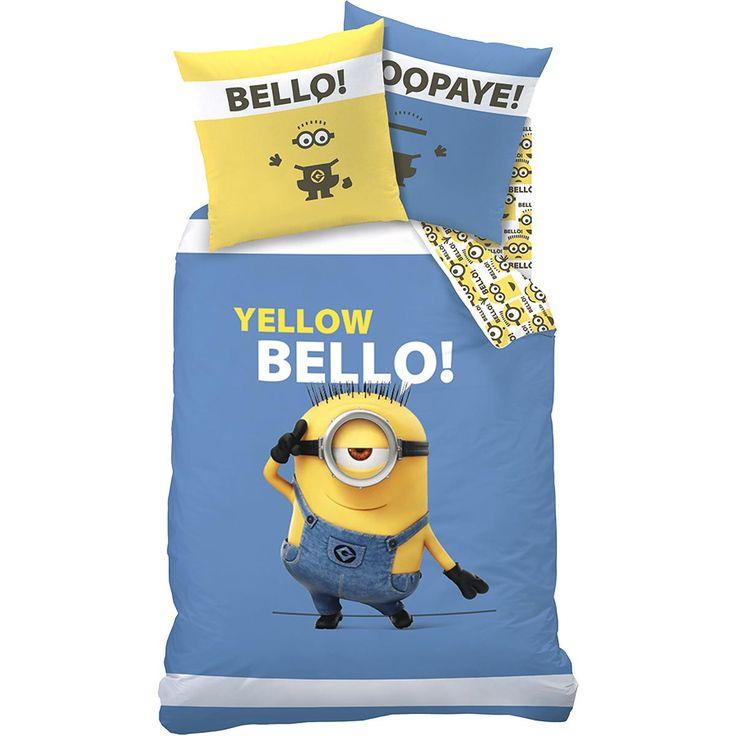 Minions Sängkläder »Yellow Bello« | Köp i EMP | Mer Fan-merch Påslakan och örngott finns online ✓ Oslagbara priser!