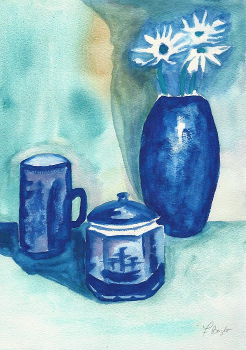 Delft Still Life Painting by Frank Bright - Delft Still Life Fine Art Prints and Posters for Sale fineartamerica.com