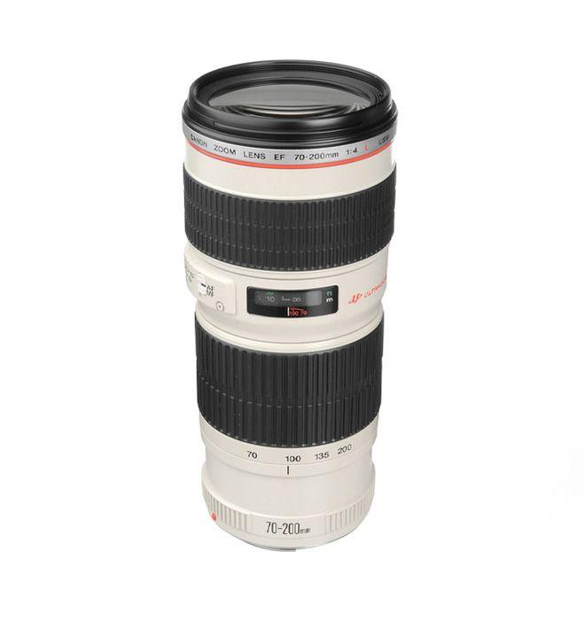 Dette højtydende EF 70-200MM 1:4 L USM-telezoomobjektiv giver fremragende ydelse til alle formål. Det er ideelt til rejsen, fordi det er så let og kompakt.FeaturesObjektivkonstruktion: 16 elementer...