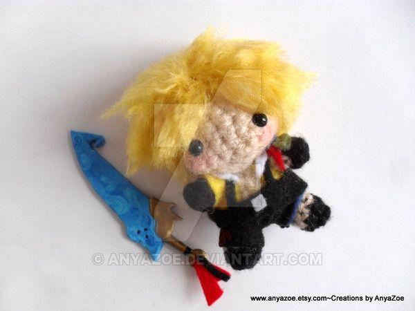 Amigurumi Doll Anime : Arjeloops dargon ball gohan crochet doll by arjeloops on