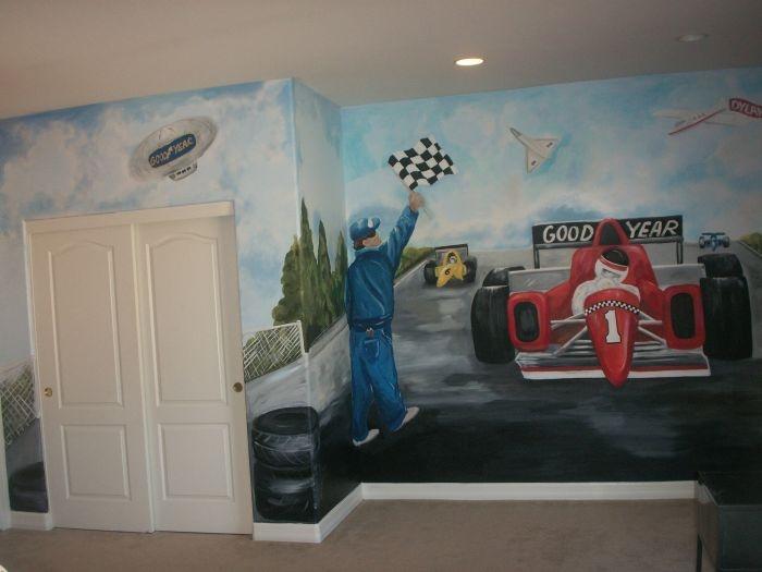 Race Track Murals By Lorie La Plant Part 62