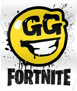 Fortnite Battle Royale Gg Good Game Graffiti Spray Smiley