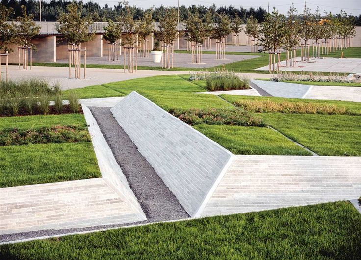 325 best images about landscape topography steps for Garden designs for triangular gardens
