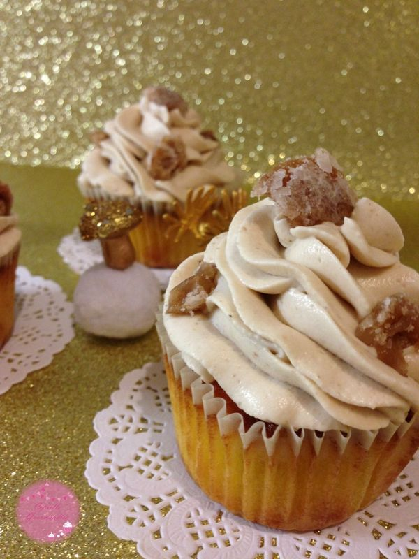 Cupcakes aux marrons {Bataille Food