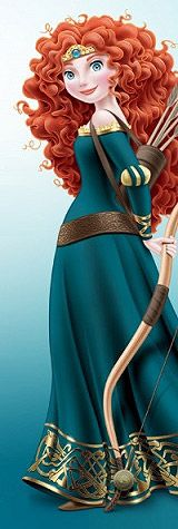 MERIDA TO BE AN OFFICIAL DISNEY PRINCESS ON MAY 11TH, HER ROYAL CORONATION CEREMONY. Ahhhh~!