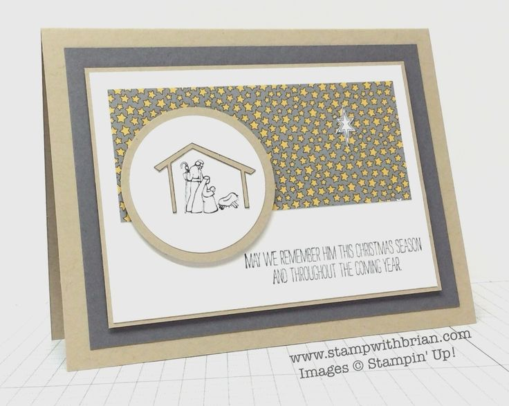 The Newborn King, Stampin' Up!, Brian King, MM130