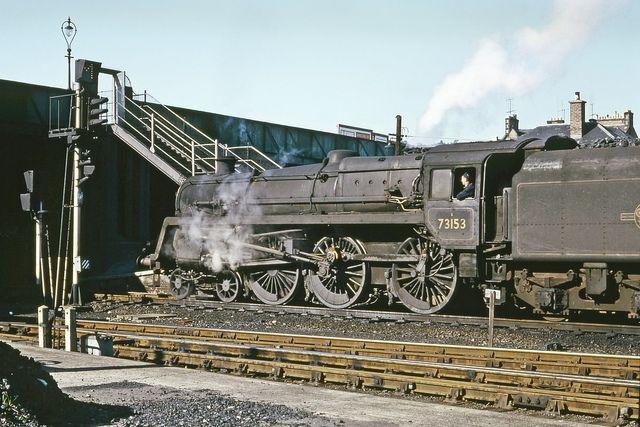 Hi-Res R0567 | BR Standard Caprotti Class 5 4-6-0 73153 ease… | Flickr