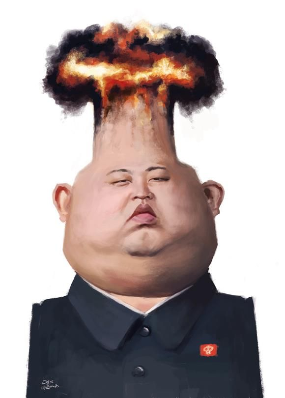 Kim Jong-un by Olle Magnusson