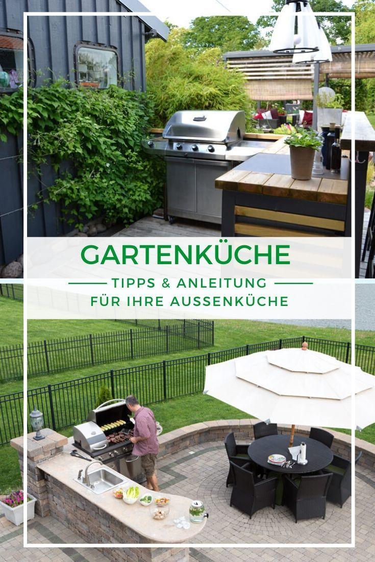 Gartenkuche Selber Bauen Anleitung Und Tipps In 2020 Garten Kuche Terassenideen Selber Bauen