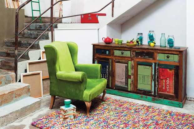 El aspecto decorativo de una alfombra