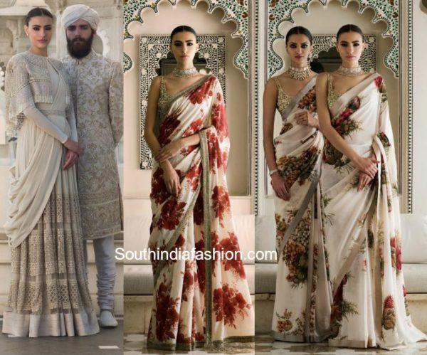 sabyasachi-udaipur-collection-spring-couture-2017-floral-sarees