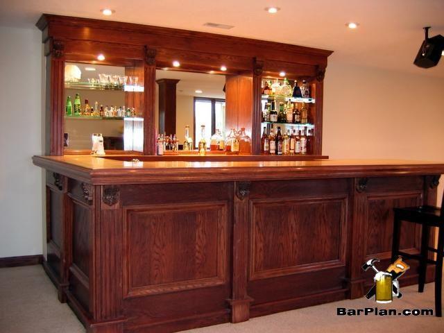 New Homemade Basement Bar