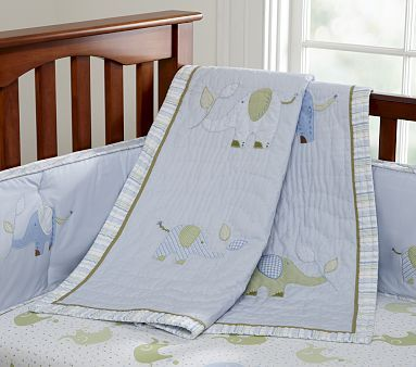 Eli's Elephant Nursery Bedding #PotteryBarnKids: Elephants Theme, Elephants Nurseries, Boys Nurseries, Baby Beds, Boys Rooms, Baby Boys Beds, Nurseries Beds, Pottery Barns Kids, Elie Elephants