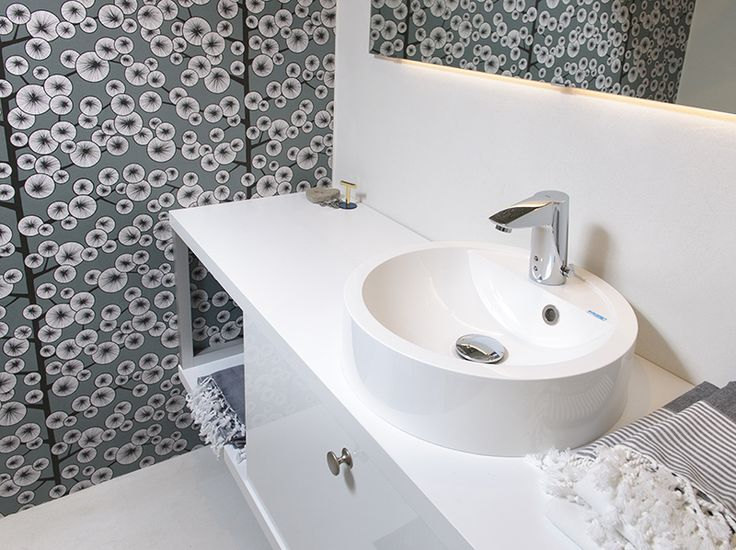 Faucet: Oras Cubista - touchless faucet for wash basin