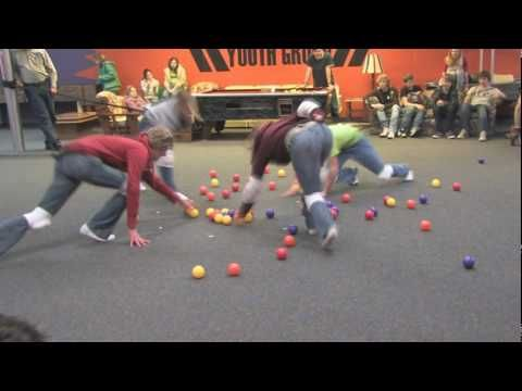 Crossfit Kids Games Ideas:  Human Hungry Hungry Hippos
