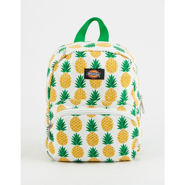 32015a34af25 Dickies Pineapple Canvas Mini Backpack ($20) ❤ liked on Polyvore ...