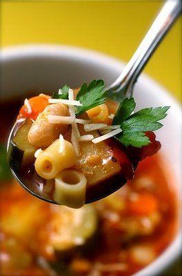 Anissa's Kitchen: Minestroni Soup