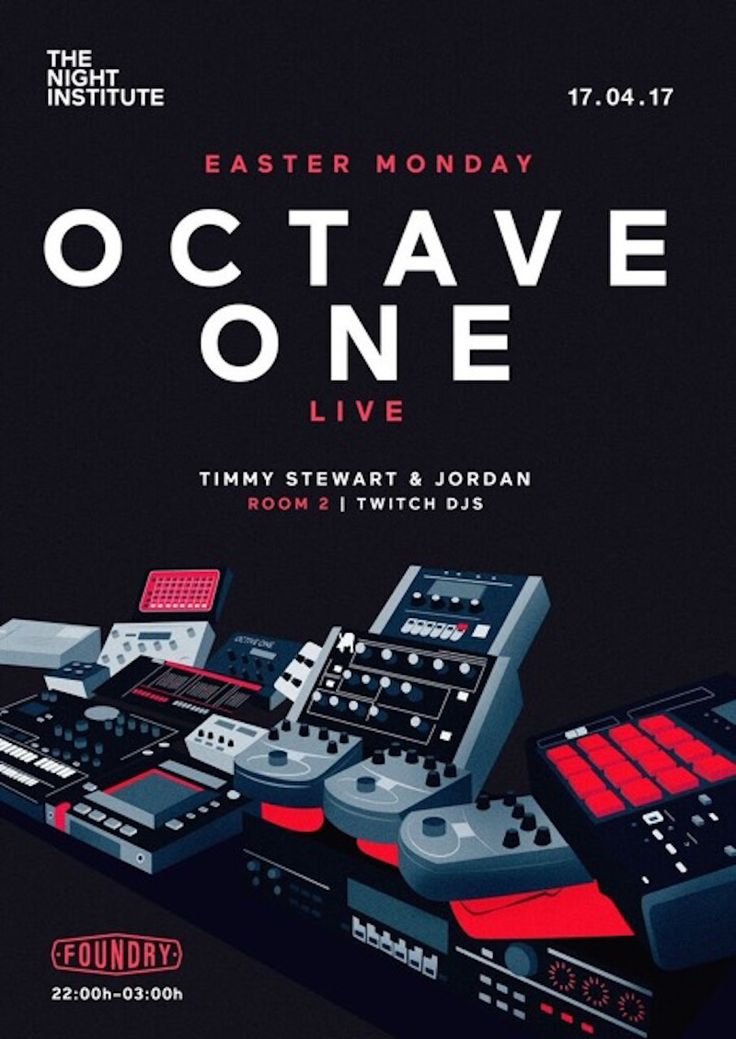 The Night Institute Present Octave One Live, Timmy Stewart
