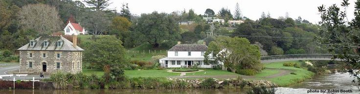 KeriKeri Inlet, Stone Store and Mission House