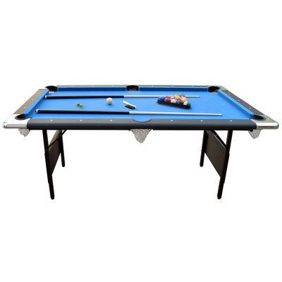 Hathaway Games Fairmont 6' Portable Pool Table