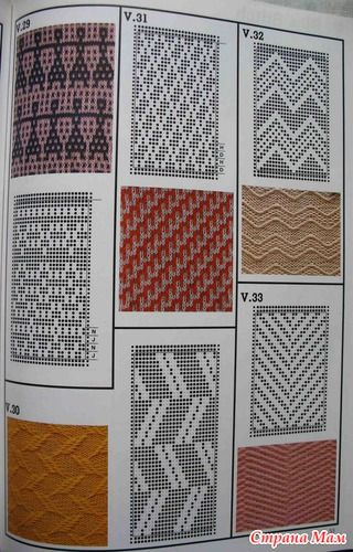 1000+ images about Mashine knittinig patterns on Pinterest