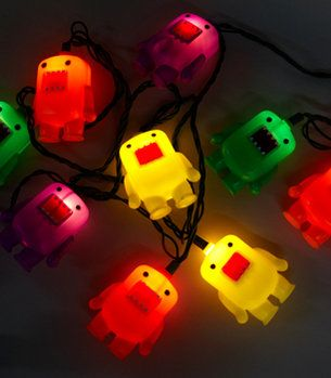 Domo Party Lights (I'd decorate with adorbs Domos all year round, parties be damned)