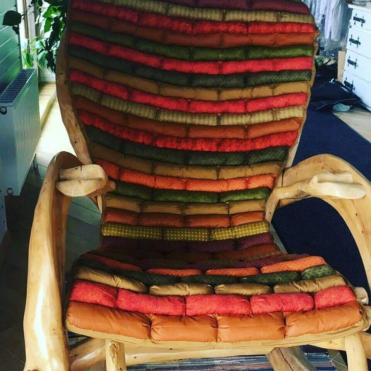 Купить Подушка -сидушка-матрас для кресла-качалки - матрас на кресло качалку, заказать матрас на кресло