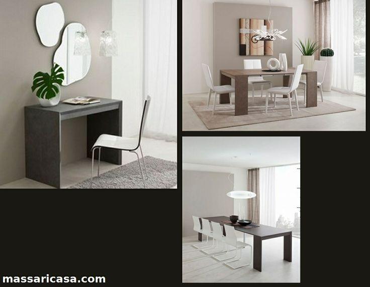 Consolle tavolo allungabile Paolo http://massaricasa.com/prodotti.asp?cat1_id=47&cat2_id=138