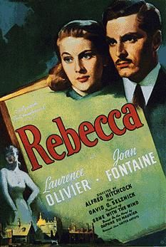 Rebecca, 1940 one of Hitchcock's best in my opinion! Eerily romantic, live Joan Fontaine :)