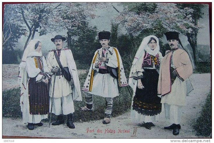 HATEG 1907, Transilvania, Tarani, Port popular