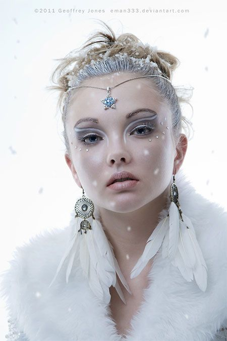 Best Snow Queen White Winter Make Up Ideas & Looks 2013/ 2014 | Girlshue