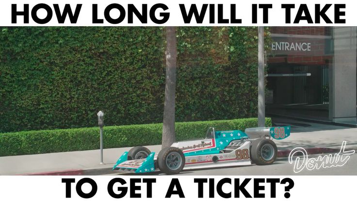 How Long Will It Take LA To Ticket This Street Parked 1977 Indy Car?