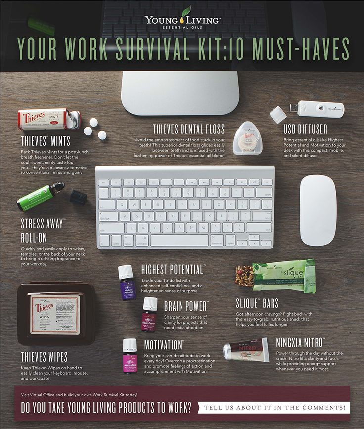 Young Living Essential Oils for Work- Must Haves. Young Living Essential Oils: Xanax.  To purchase oils visit: www.adventuresingettinghealthy.com  Free welcome kit with enrollment and premium starter kit.