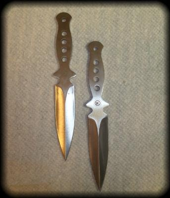 Stainless Steel Throwing Knives