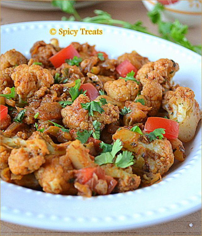 Spicy Treats: Jeera Gobi / Cauliflower Sabzi With Cumin N Cilantro