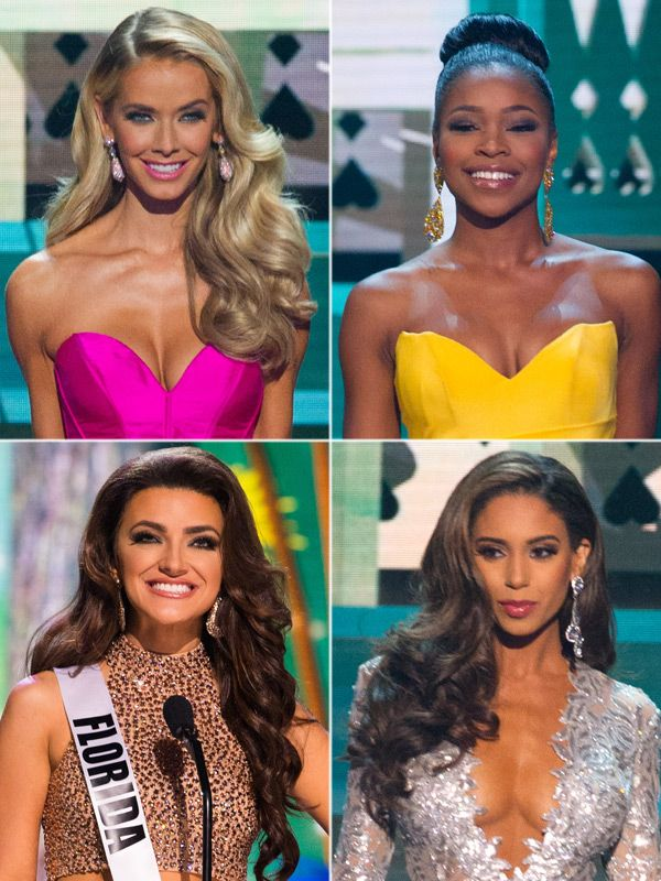 All of the ladies looked lovely in the Miss USA pageant on July 12. We're breaking down the best hair and makeup looks!