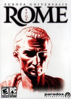 Europa Universalis: Rome (PC-CD, 2008) for Windows 2000/XP/Vista - NEW in BOX