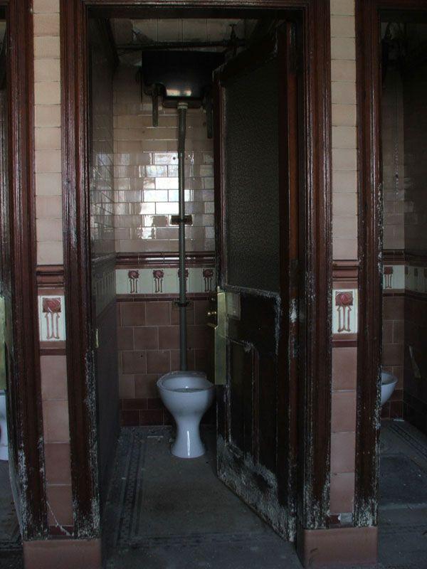 Victorian Toilets Beneath Aberdeens Union Terrace Gardens, Scotland