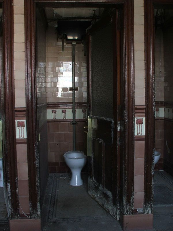 The abandoned Victorian public toilets under Union Terrace Gardens in Aberdeen, Scotland, look unlikely to reopen with plans to renovate the gardens rejected
