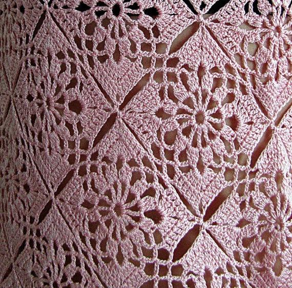 cotton crochet handmade vest with natural thread custom order. $80.00, via Etsy.