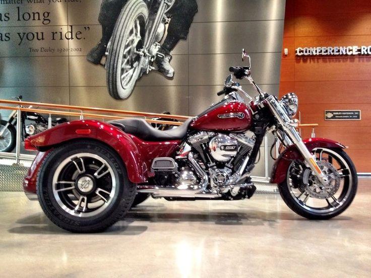 custom harley-davidson freewheeler   Motorcycles 2016 Harley-Davidson FLRT - Freewheeler Trike , Velocity ...