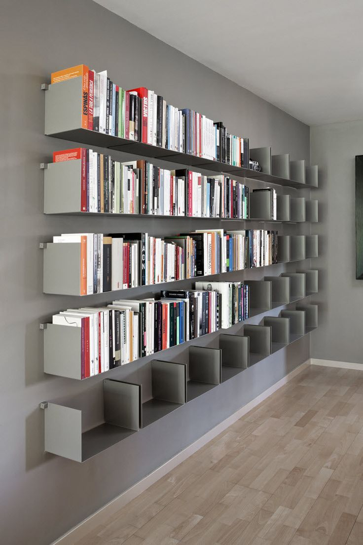 Tag re contemporaine murale en m tal noa by carme pin s santa co - Bibliotheque contemporaine en bois design ...