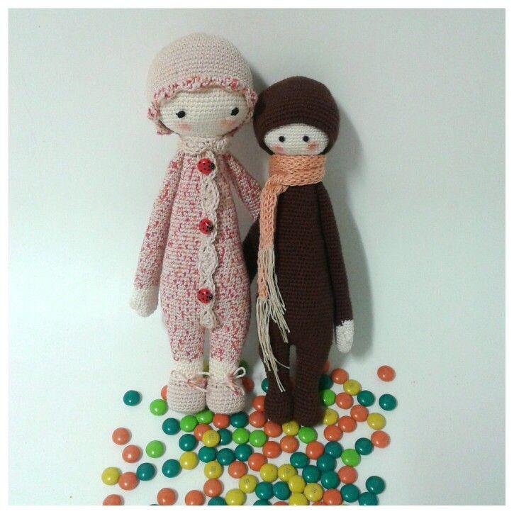 Lalylala crochet dolls.I love them